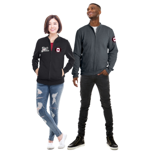 Ethica Canadian-Made Unisex Bomber Jacket