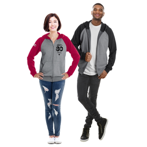 Ethica Canadian-Made Unisex Hooded Full Zip and Raglan Sleeve Sweater