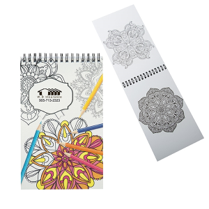 Mini Colouring Book With Spiral Binding